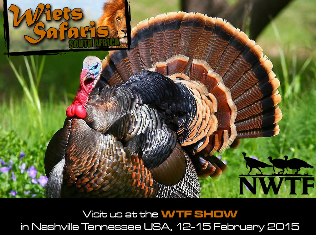 Wiets Safaris South Africa at the Wild Turkey Federation Show 2015
